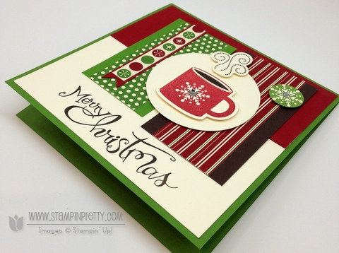 Stampin up mojo monday holiday card ideas sassy salutation punch catalog stampinup framelit