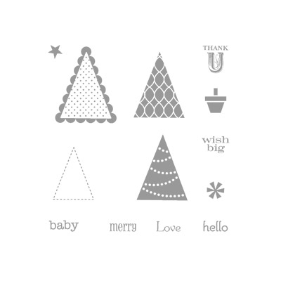 Pennant parade stampin up stampinup card ideas