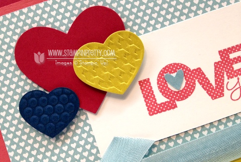 Stampin up stampinup catalog card ideas punches stamp it valentine heart birthday demonstrator blog