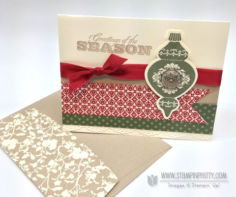 Stampin up stampinup stamp it pretty holiday catalog card ideas punch demonstrator blog