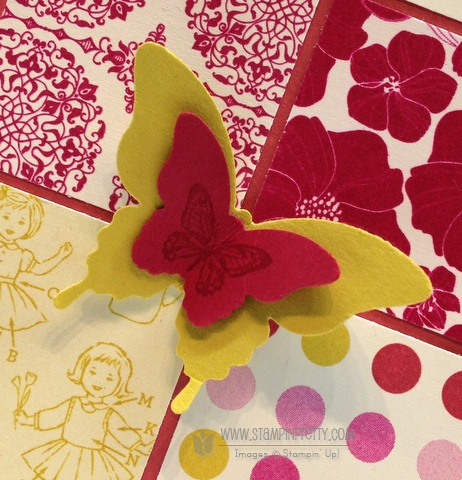 Stampin up stampinup bitty butterfly punch spring catalog demonstrator card idea sneak peek