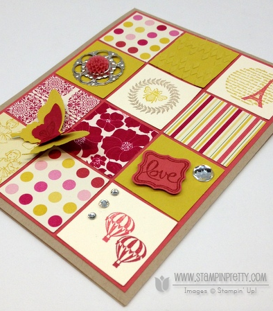 Stampin up stampinup petite curly label punch spring catalogs sneak peek card ideas demonstrator