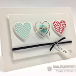 Mojo Monday:  Stampin' Up! Hearts a Flutter