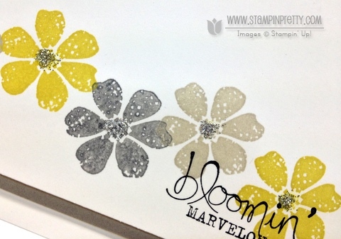 Stampin up stampinup stamp it pretty spring saleabration catalog demonstrator order card idea