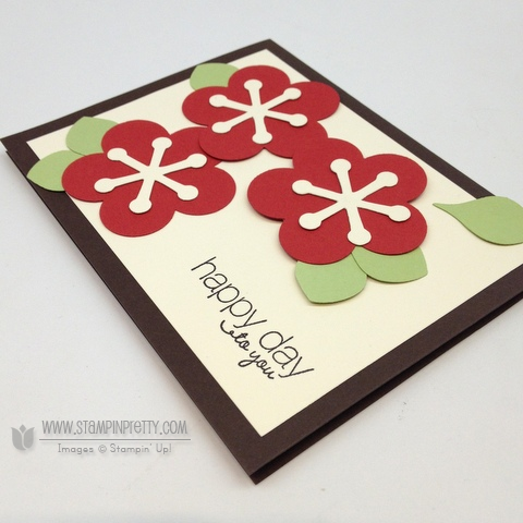 Stampin up stampinup pretty stamps it order catalogs punch flower card ideas