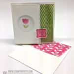Simple Saturday Sneak Peek 3 x 3 Fold Card