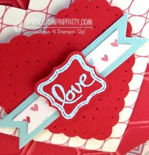 Stampin up stampinup stamp it pretty valentines cards idea spring catalog heart a flutter framelit