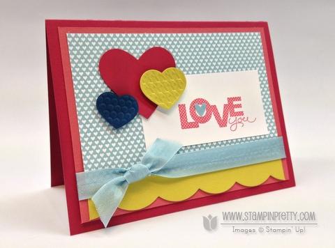 Stampin up stampinup catalog cards idea punch stamp it valentine heart birthday demonstrator blog
