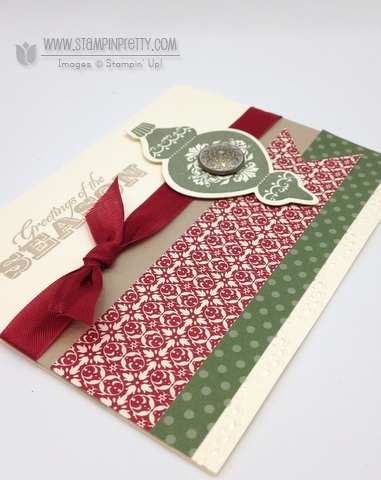 Stampin up stampinup stamp it pretty holidays catalog card ideas punch demonstrator blog