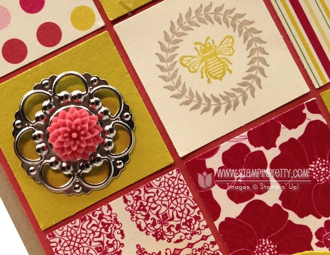 Stampin up stampinup petite curly label punch spring catalog sneak peek card idea demonstrator