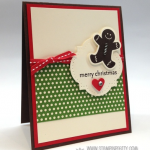 Stampin' Up! Scentsational Gingerbread Man