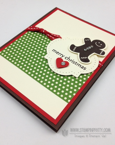 Stampin up stampinup stamp it holiday catalog big shot machine framelits gingerbread man punch cards