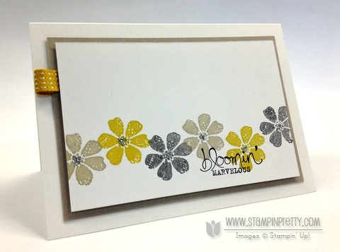 Stampin up stampinup stamp it pretty spring saleabration catalog demonstrator order card ideas
