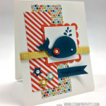 Stampin' Up! Oh, Whale! Mojo Monday Card