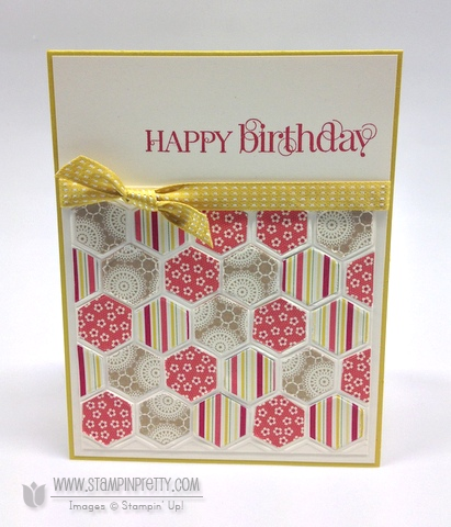 Stampin up stampinup pretty order online catalog spring hexagon card ideas birthdays demonstrator
