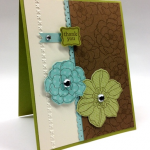 PPA 151 Stampin' Up! Secret Garden Card