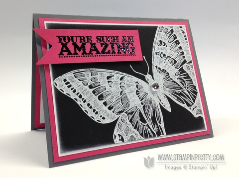 Stampin up stampinup stamp it pretty spring catalog swallowtail punch card ideas