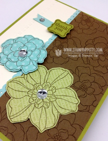 Stampin up stampinup stamp it pretty card ideas catalog springs secret garden