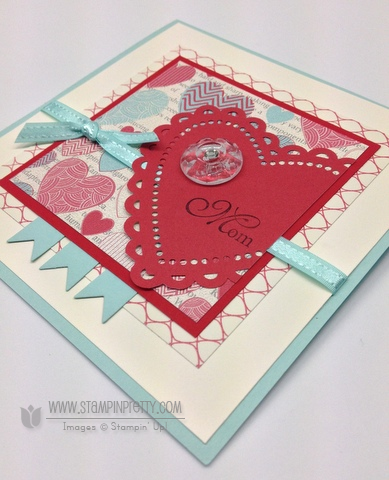 Stampin up stampinup stamp it pretty order online spring catalogs valentine day card idea