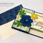 Stampin' Up! Secret Garden Sympathy Card