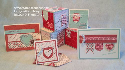 Kerry bray stampin up stampinup valentine day card ideas