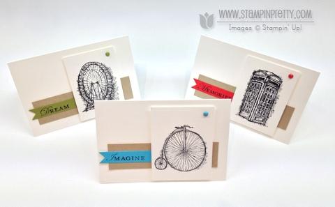 Stampin up stampinup order saleabration catalog card ideas feeling sentimental