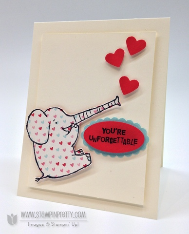 Henry Says is Unforgettable  Stampin Pretty
