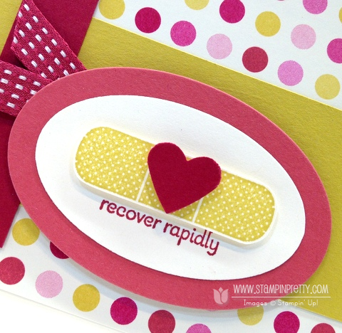 Stampin up stampinup stampin up oval punch framelits get well card ideas patterned occasions saleabration