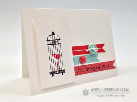 Stampin up stampinup stamp it pretty order aviary catalog punch card ideas demonstrator