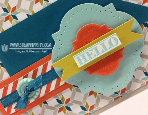 Stampin up stampinup order pretty simply scored envelope saleabration friendship preserves card idea