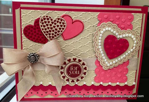 Amy lazzell valentines day card stampin upg-001