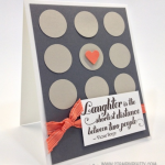 Building a Pattern with Stampin' Up! Punches