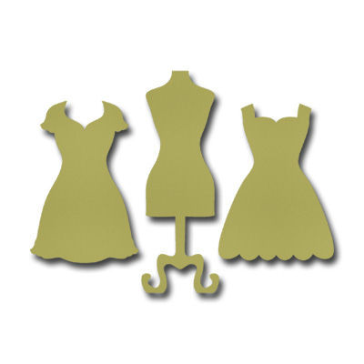 Dies dress up framelits bit shot stampin up stampinup card ideas