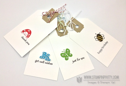Stampin up stampin up online class tutorial tag idea spring sampler catalog orders