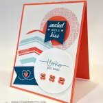 """Sent With Love"" Thank You Card"