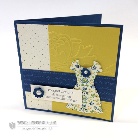 Stampin up stampinup pretty order all dressed up dress up framelits dies spring catalogs card idea