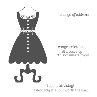 All dressed up stampin up stampinup card ideas