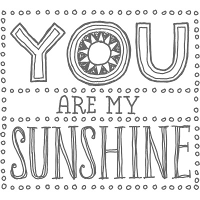 You are my sunshine stampin up stampinup pretty
