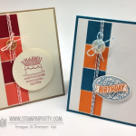 Stampin' Up! Best of Birthdays Card Duo