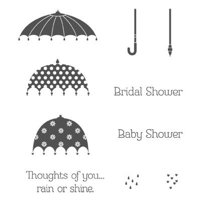 Rain or shine stampin up stampinup card ideas