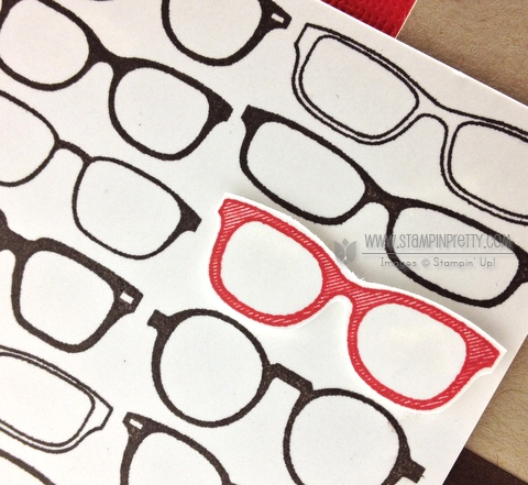 Stampin up stampinup pretty order masculine cards idea spectacular glasses mojo monday