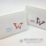 Quick & Pretty Video: Paper-Pierced Butterfly