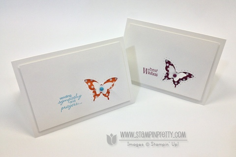 Stampin up demonstrator video tutorial stampinup pretty order online butterfly punch spring catalog