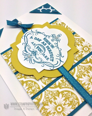 Stampin up stampinup saleabration order online pretty card idea punch catalog vintage verse