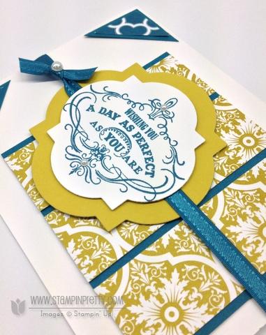 Stampin up stampinup saleabration order online pretty card idea punch catalog vintage verse