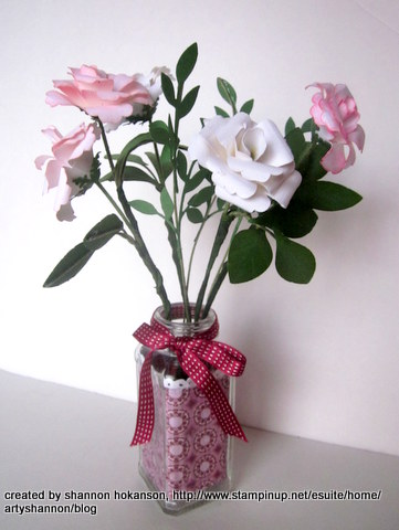 Flower card and bouquet 011-001