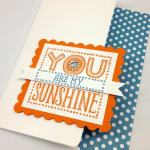 Stampin' Up! Scallop Squares Duo:  1 Minute to WOW! Video