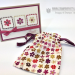 Bloomin' Marvelous Card & Stampin' Up! Introduces Clear Stamps!