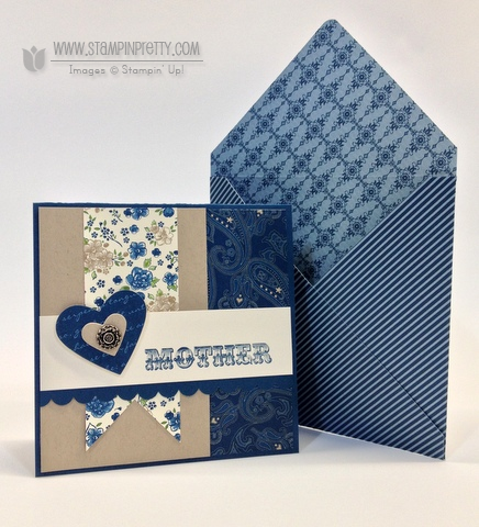 Stampin up stampinup order online pretty square punch mothers day card idea spring catalogs