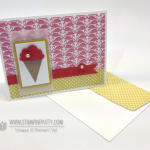 Stampin' Up! Ice Cream Cone Birthday Card